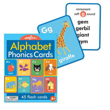 Load image into Gallery viewer, Alphabet and Phonics Flash Cards