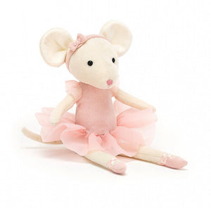 Candy Pirouette Mouse, Jellycat