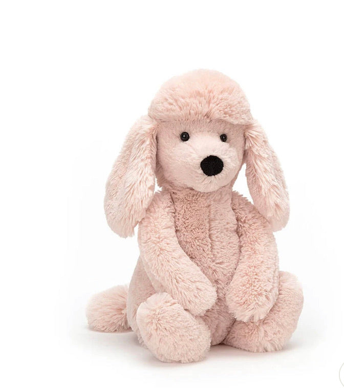 Bashful Poodle Medium, Jellycat