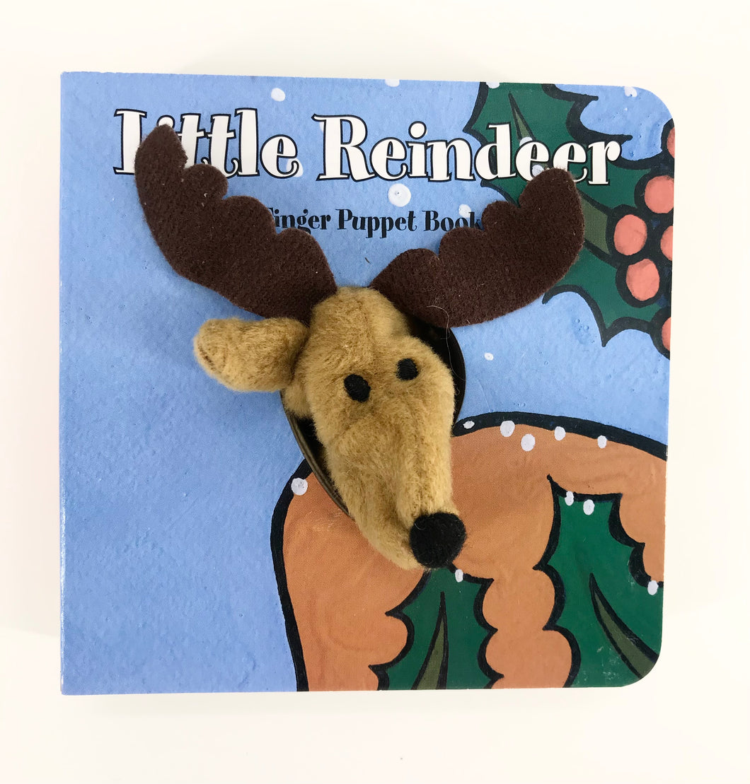 Little Reindeer Finger Puppet Book
