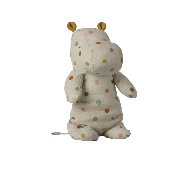 Maileg Medium Hippo, Polka-Dot