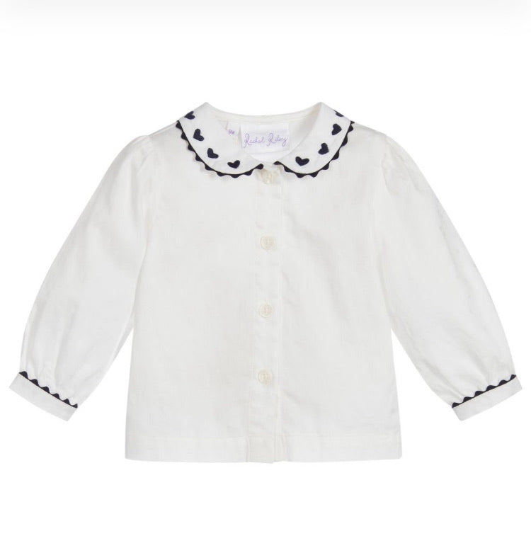 Rachel RileyLittle Girl's and Baby's White Blouse