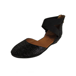 Noa Flat - Black Sparkle