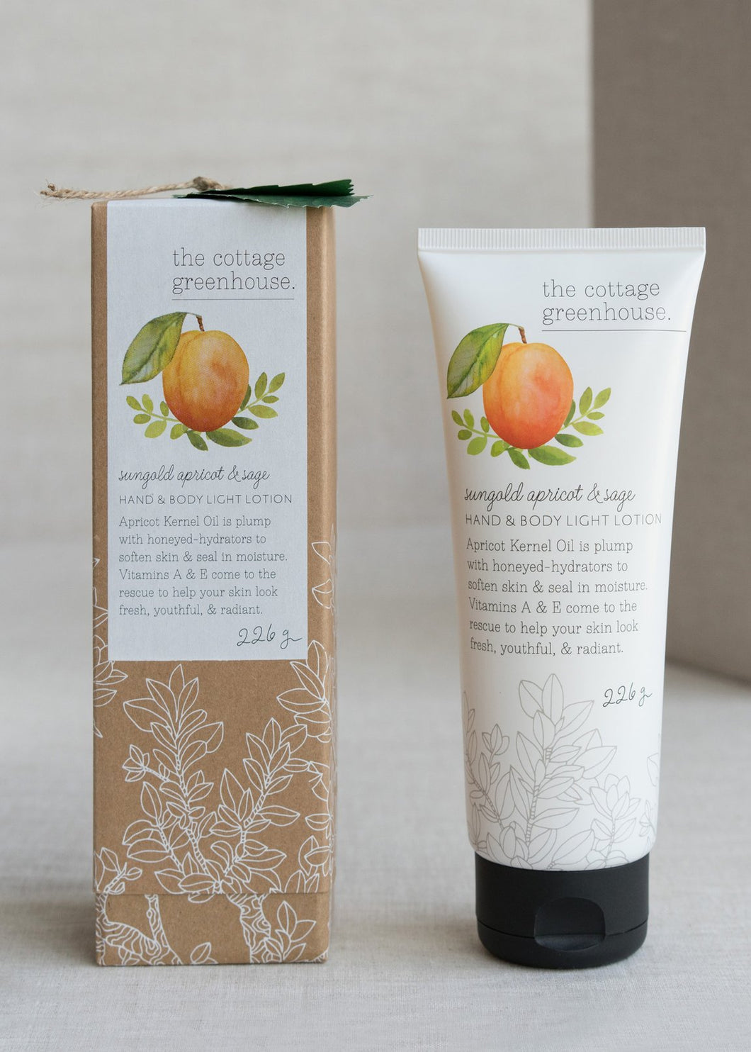 Sungold Apricot & Sage Lotion