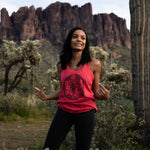 Energy Flower Womens Yoga Tank