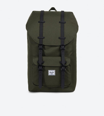 Herschel Little America 25L Backpack Forest Green w/Black