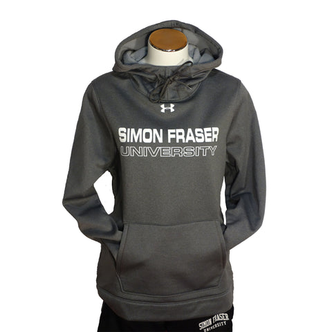 SFU Storm Armour Fleece Team Hoodie Ladies Grey
