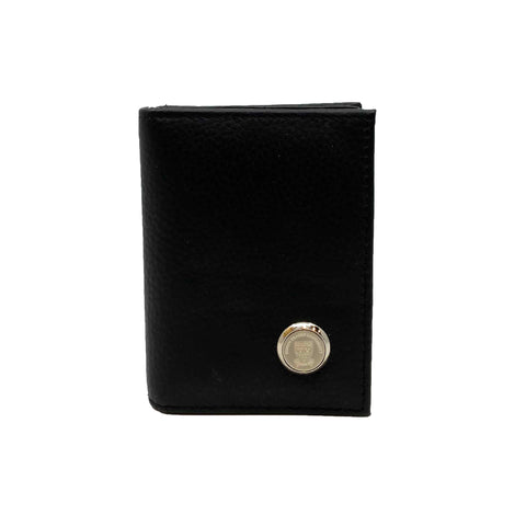 SFU Crested Leather Business Card Case Wallet