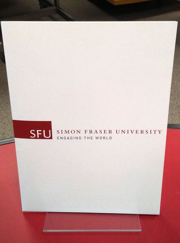SFU Engaging The World 2 Pocket Folder White - Special