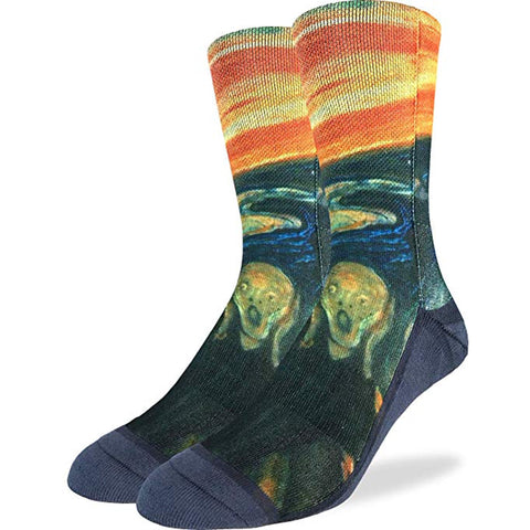 The Scream Mens Socks