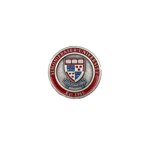 SFU Shield Enamel Pin