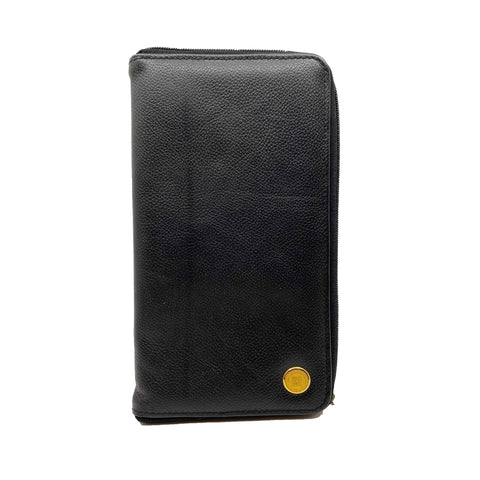 SFU Crested Executive Leather Passport Wallet
