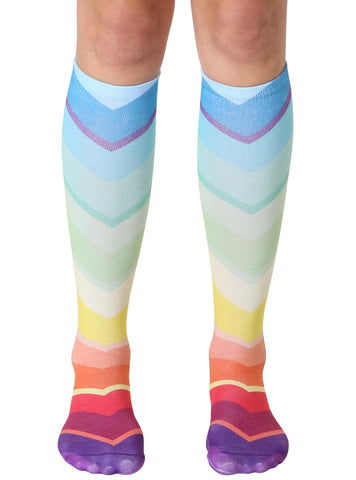 Geo 3 Knee High Socks