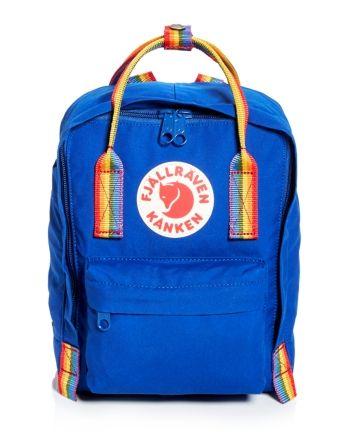 Fjällräven Kånken Mini Rainbow Deep Blue