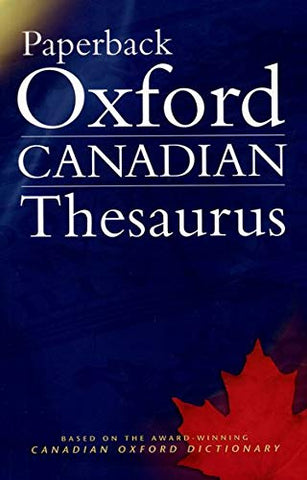 Oxford Canadian Paperback Thesaurus