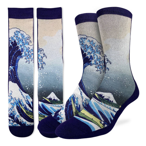 Great Wave Off Kanagawa Mens Socks