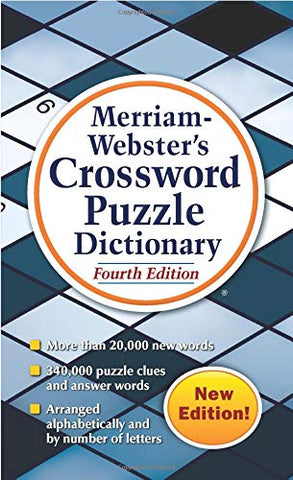 Merriam-Webster Crossword Puzzle Dictionary, 4th ed.