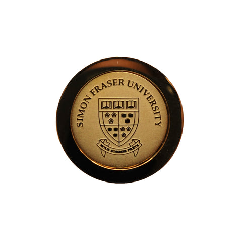 SFU Crest Gold Lapel Pin