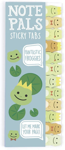 Note Pals Sticky Notes Fantastic Froggies