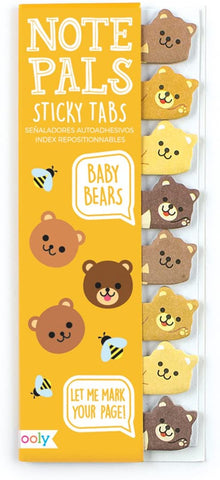 Note Pals Sticky Tabs Baby Bear