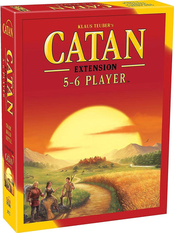 Catan 5 -6 Players extension Game