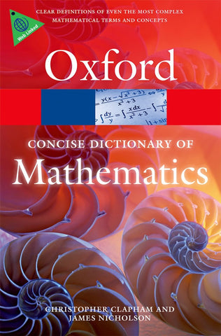 Oxford Concise Dictionary of Mathematics