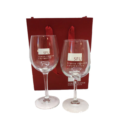 SFU Red or White Wine Glasses