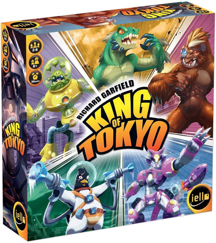 King of Toyko Game 2nd ed