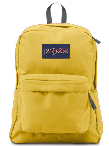 Jansport Superbreak Backpack Yellow Card