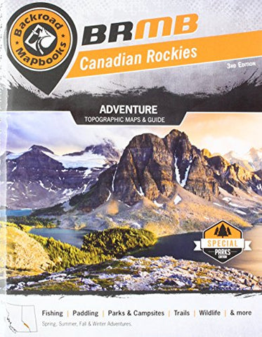 Canadian Rockies (Backroad Mapbook)