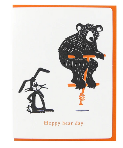 Hoppy bear day