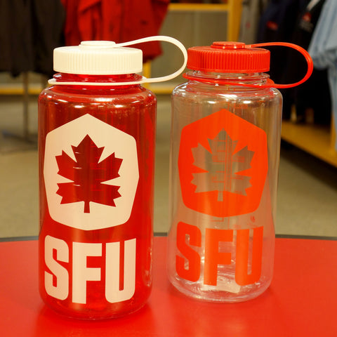 SFU Athletics Nalgene Wide Mouth 30oz Bottle