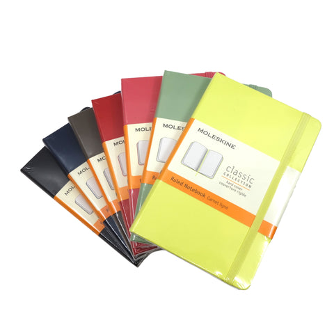 Moleskine Classic Pocket Ruled Hard Cover