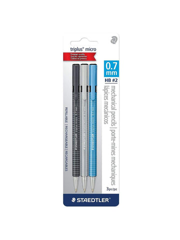 Staedtler Triplus Pencil 3pc set .7mm