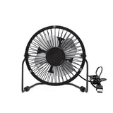 USB Fan Metal Black