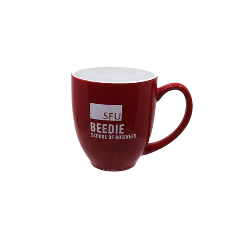 Beedie Bistro Mug Red 16oz.