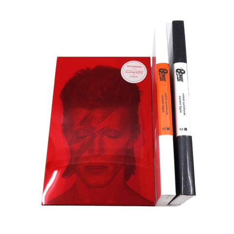 Moleskine David Bowie Collectors Edition, Large Ruled, Hard Cover
