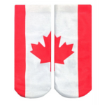 Canadian Flag Ankle Socks
