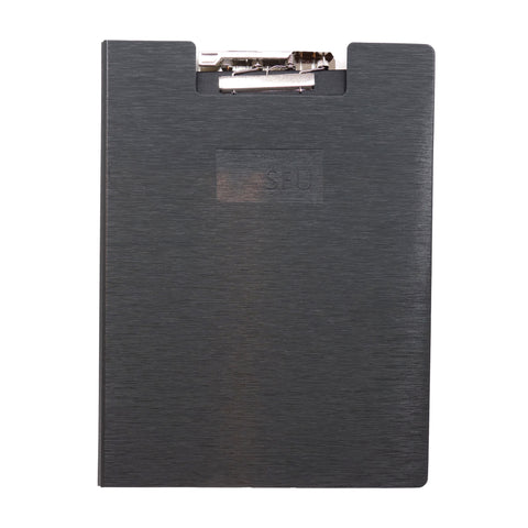 SFU Clipboard w/recycled Lined Writing Pad Charcoal
