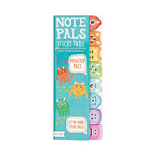 Note Pals Sticky Notes Monster Pals