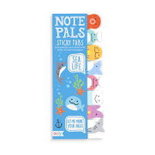 Note Pals Sticky Notes Sea Life