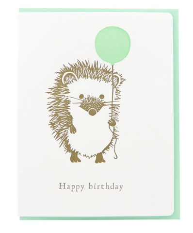 Hedgehog Balloon Birthday