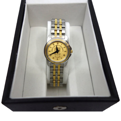 SFU Two-tone Silver/Gold Watch Ladies