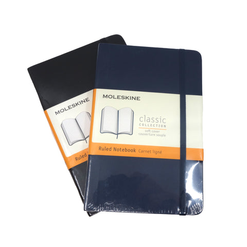 Moleskine Classic Pocket Ruled Soft Cover