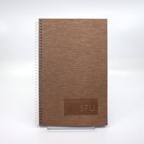 Notebook 6x9 Brushed Steel