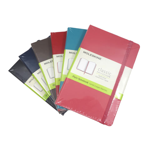 Moleskine Classic Pocket Plain Hard Cover
