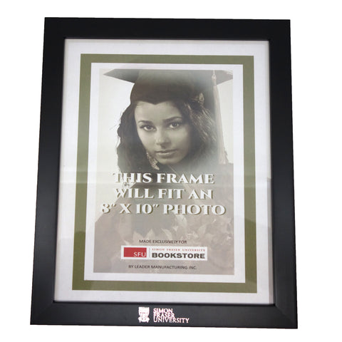 SFU Branded Wood 8X10 Picture Frame