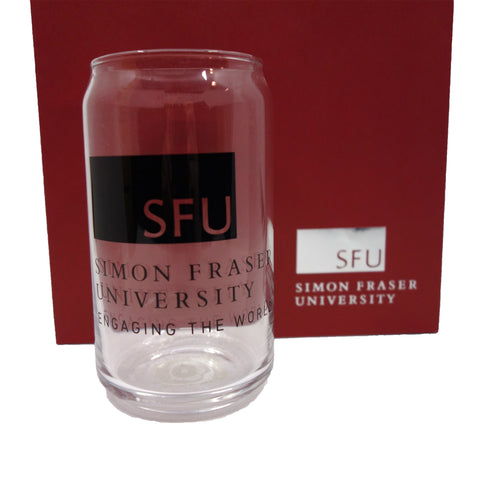 SFU Pop Can Glass Tumbler 16oz