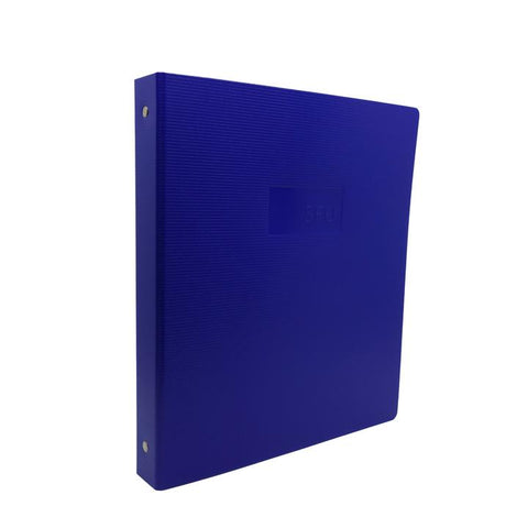 "SFU Ukagu Recycled Binder 1 1/2"" Navy"