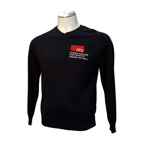 SFU V-Neck Ladies Sweater